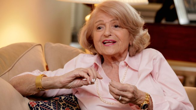 Edith Windsor, Victor In A Landmark Marriage Equality Case, RIP