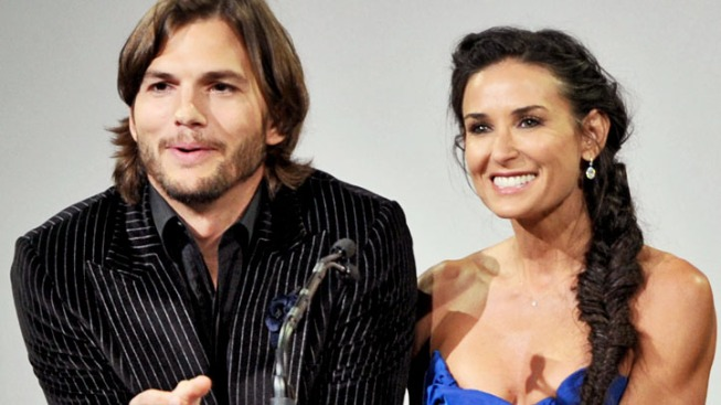 Demi Moore Divorcing Ashton Kutcher