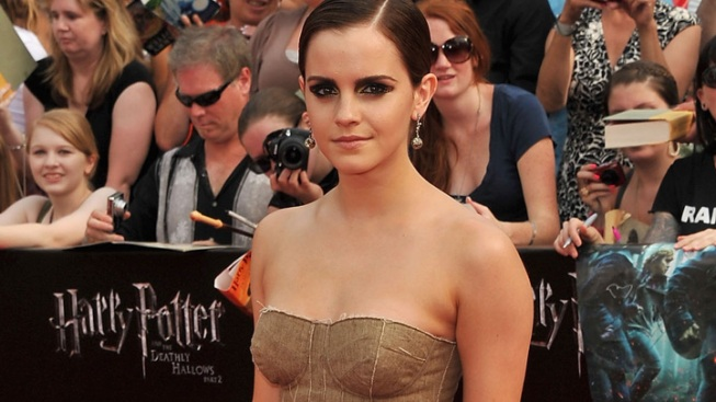 One Shot: Emma Watson Goes Dark for Potter's New York Premiere