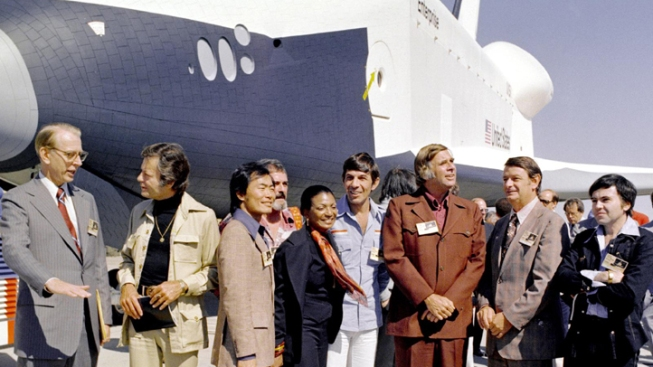 Intrepid Gets Shuttle That Never Went to Space