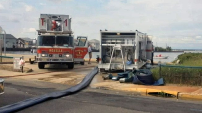 Hot Spots Could Slow Search for Cause of Jersey Shore Fire