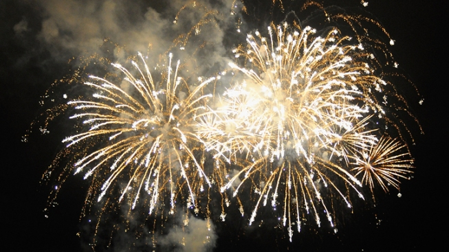 Canceled Fireworks Back on in Cash-Strapped Town