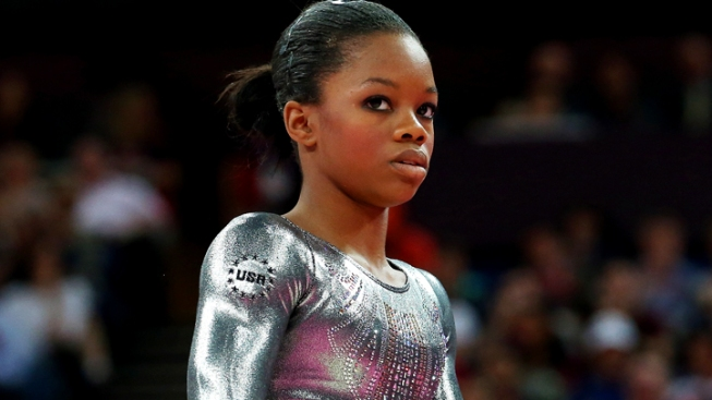 Gabby Douglas Makes Wrong Turn on Bars, Fails to Medal