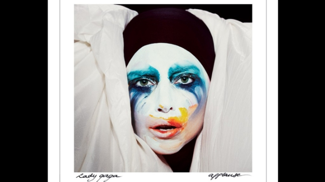 "Lady Gaga Reveals Cover Art for Upcoming Single ""Applause"""