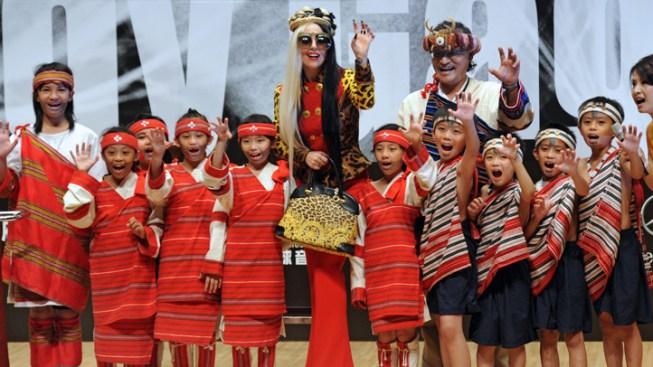 Sunday Is Lady Gaga Day In Taiwan