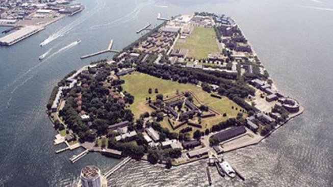 350-Pound Civil War Cannonball Found on Governors Island
