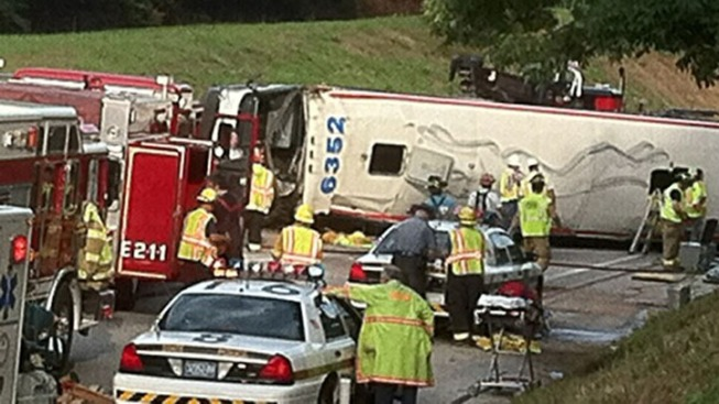 Greyhound Bus from NYC Crashes on Pa. Turnpike