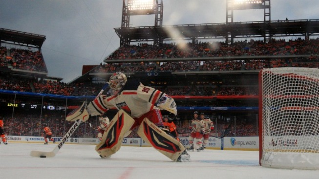 Rangers Take the Winter Classic
