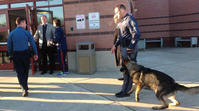 Drug-Sniffing Dogs Sweep New Jersey High School in Area Plagued by Overdoses