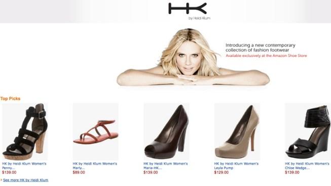 Heidi Klum Debuts Two New Shoe Lines