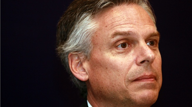 Huntsman Launches 2012 Bid at Liberty State Park