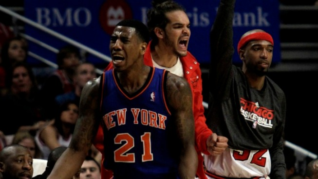 Knicks Can't Catch Bulls This Time