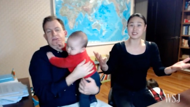 'Yes, I Was Wearing Pants': Dad Talks About Being Interrupted by His Kids on Live TV