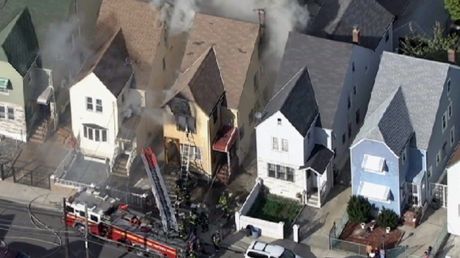 Two Homes Destroyed in Jamaica, Queens