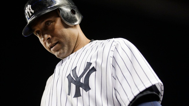Derek Jeter 2 Hits Away from 3,000, Continues Today After Rained-Out Game