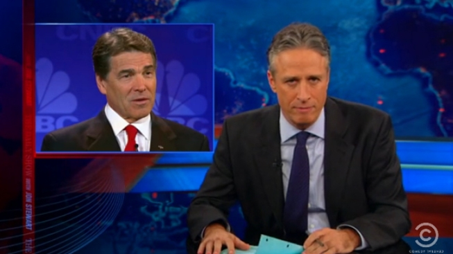 "Jon Stewart Calls the Election: ""You Are Stuck with Mitt Romney!"""