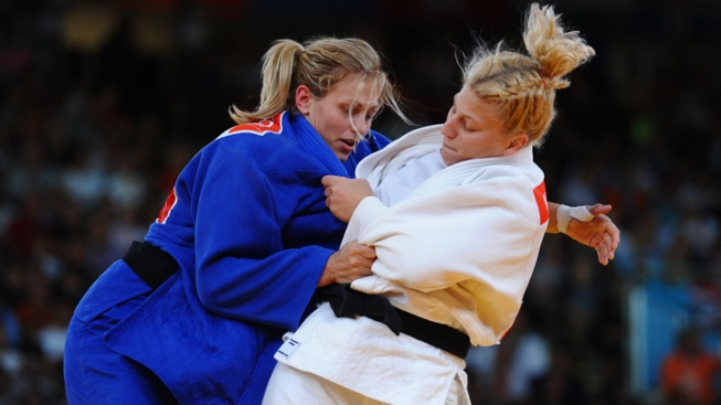 Kayla Harrison 1st American to Win Gold in Judo