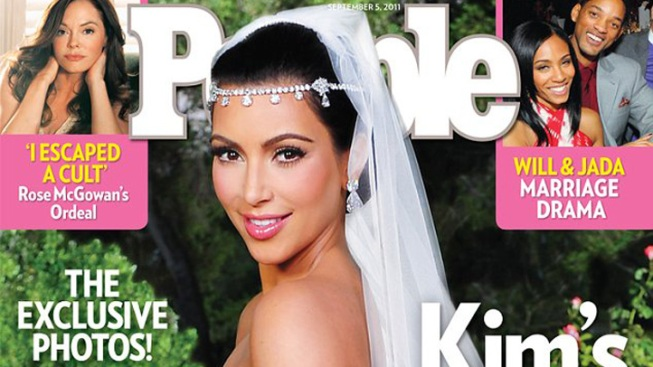 Kim Kardashian Wedding Exclusive a Hit for People