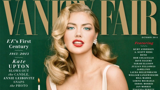 Kate Upton Channels Marilyn Monroe for Vanity Fair
