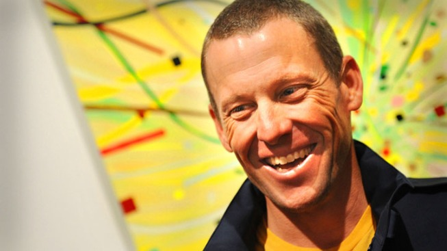 "Lance Armstrong Makes First Post-Scandal Appearance: ""I Thought I'd Reintroduce Myself"""