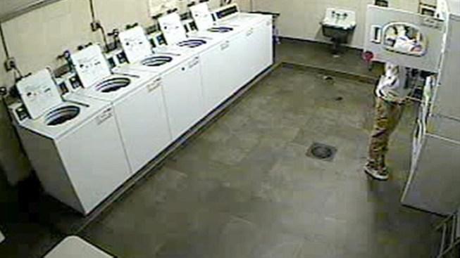 Surveillance Video Shows Man Stealing Womans Underwear From Laundry In Manhattan
