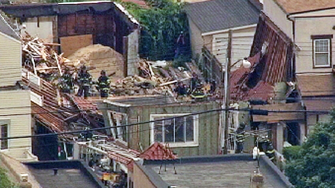 2 Workers Trapped in Queens Building Collapse