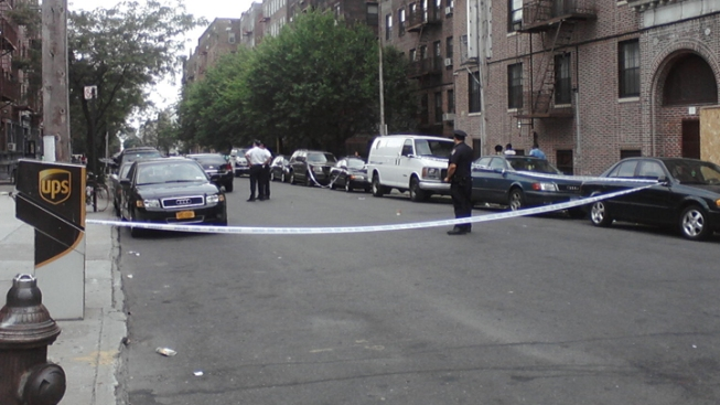 2 Shot on Brooklyn Street