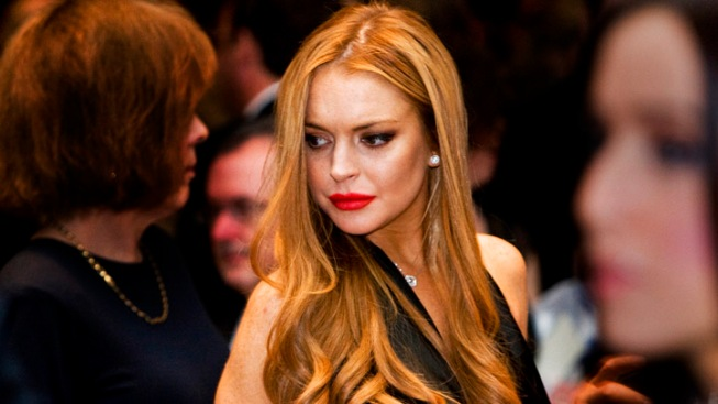 Lindsay Lohan Hospitalized, Treated for Breathing Problem
