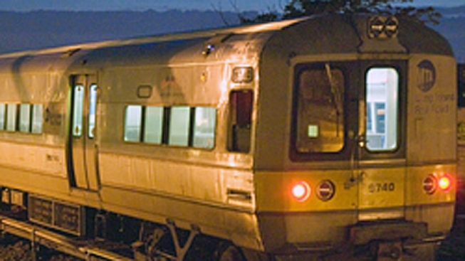 LIRR Train Catches Fire Near Bellerose