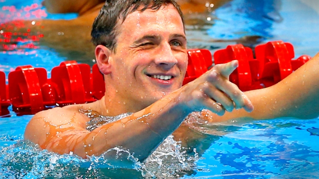 Lochte Wins Gold, Phelps Fourth