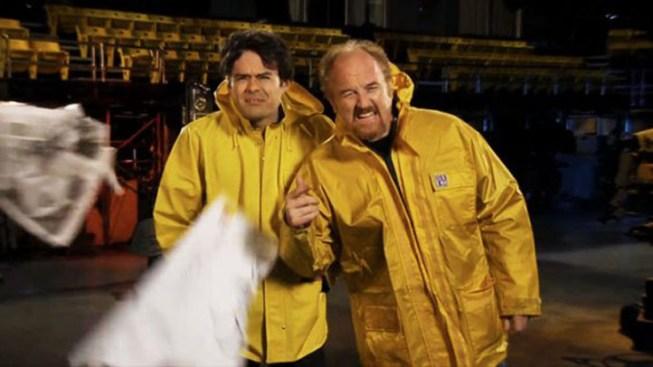 "First Look: Louis C.K. Promos ""Saturday Night Live"" Hosting Gig"
