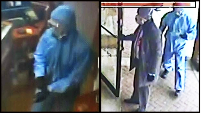 Police Release Photos of Robbers Who Dressed Up as Hazmat Crew in Jewelry Robbery