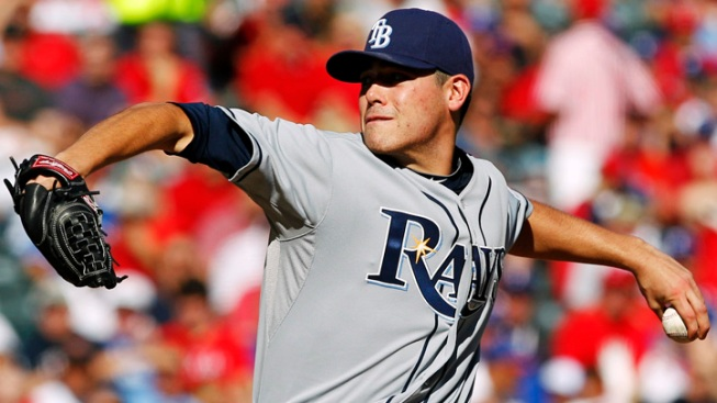 Rays Rookie Moore Dominates Texas in ALDS Opener