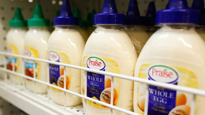 Thieves Make Off with 92 Pounds of Mayonnaise