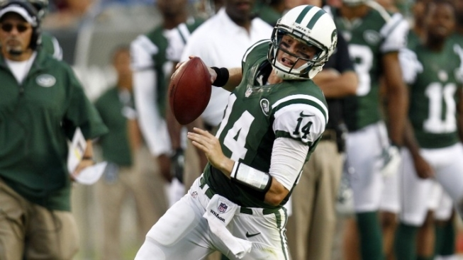 Mark Sanchez Benched, Jets Beat Cardinals 7-6