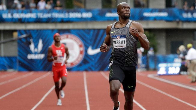LaShawn Merritt Moves on in Quest for Olympic Double