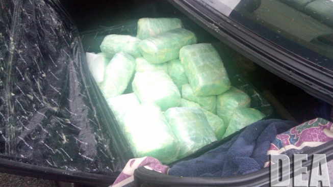 Massive Meth, Heroin Shipment from Mexico Seized in NJ