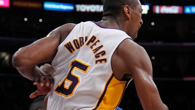 Metta World Peace Says He Will Be a Knick