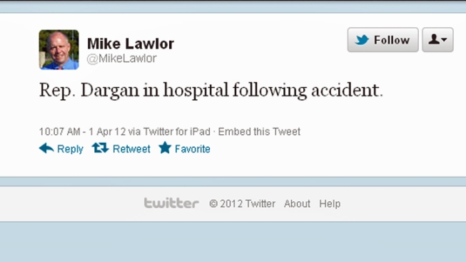Twitter Report of Conn. Lawmaker's Accident Was Prank