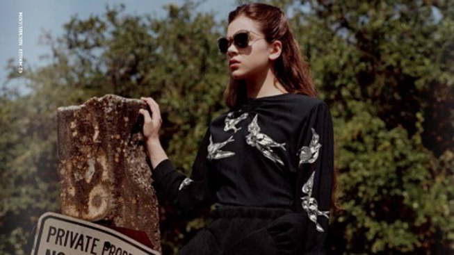 First Look: Hailee Steinfeld for Miu Miu