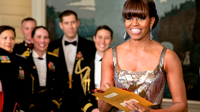 First Lady Not Surprised by Reaction to Oscars