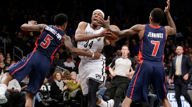 Pistons Hand Last-Place Nets Fifth Straight Loss