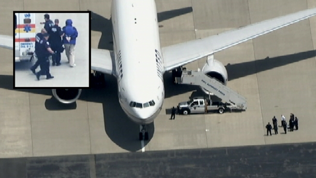 Unruly Traveler on NJ-Bound Plane Had Worked at State Department: US