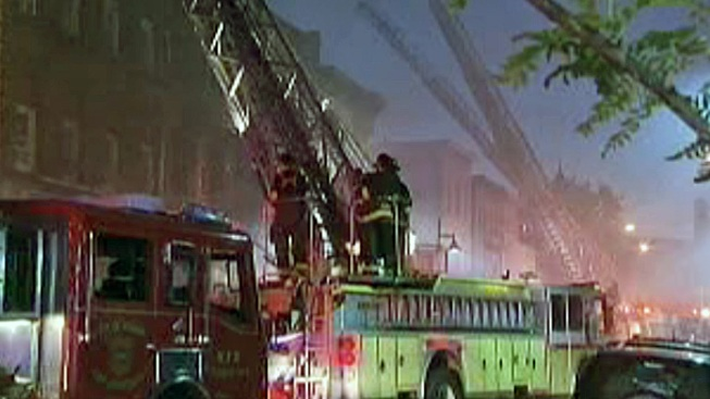 Dozens Displaced in Massive Newark Blaze