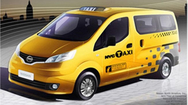 Minivan By Nissan Chosen as Taxi of Tomorrow