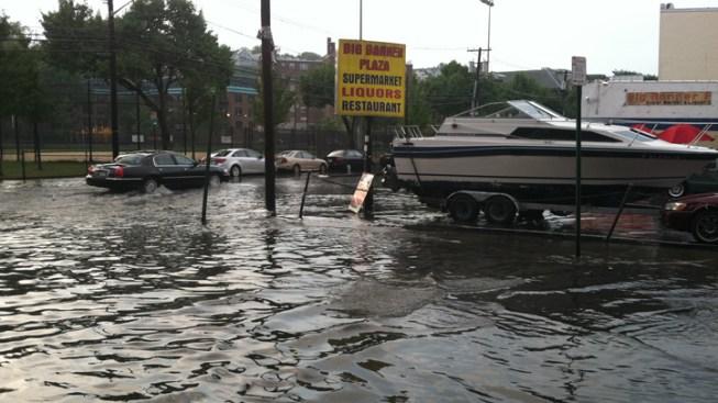 Hoboken Flooded After Rain