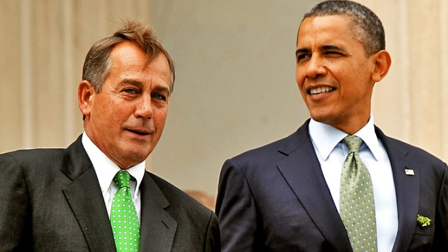 """Obama Rejects Boehner's """"Plan B"""" amid Fiscal Cliff Haggling"""