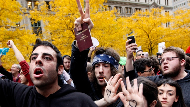 One Arrested as Smaller Occupy Wall Street Group Tries to Fend Off Bad Behavior
