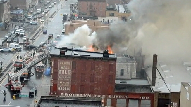 5 Firefighters Injured as 5-Alarm Fire Rips Through Park Slope Building