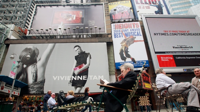 Times Square Pedestrian Plaza Improved Air Quality: Report